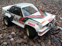 Tamiya Opel Ascona 400 Rally RC car- complete